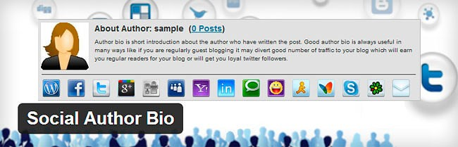 mejores plugins author rank social author bio