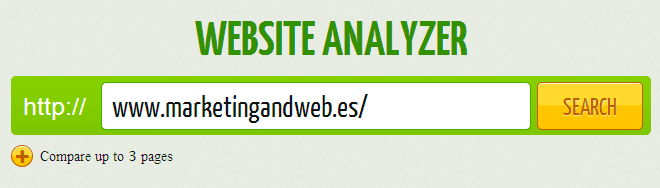 website analyser