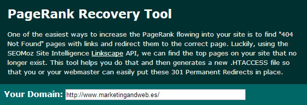 pagerank recovery tool