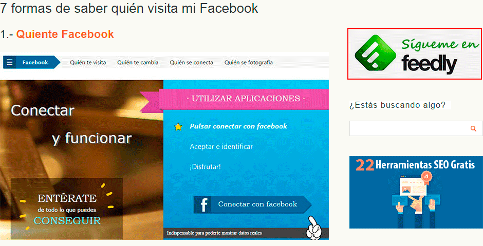 sigueme feedly