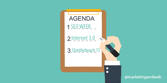 Mi Agenda de Eventos de Marketing Online y Social Media