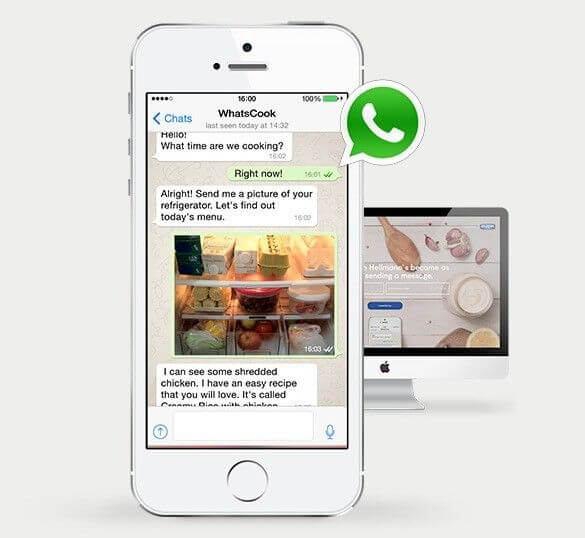 WhatsApp Hellmann's y WhatsCook