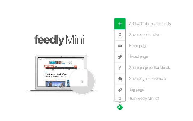 feedly min -extension chrome