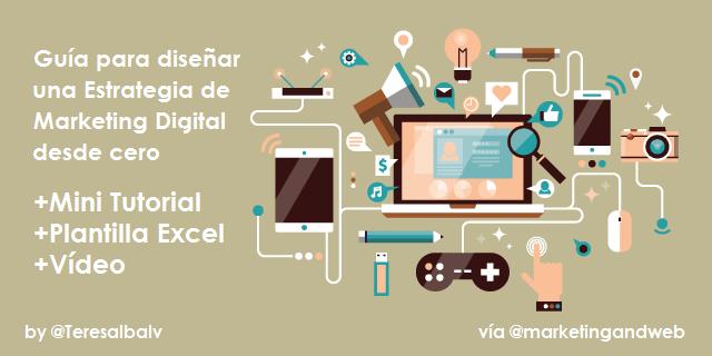 Súper Guía para crear una Estrategia de Marketing Online [Tutorial + Plantilla + Vídeo]