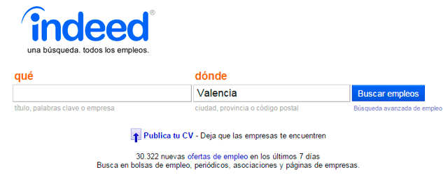 pagina empleo indeed