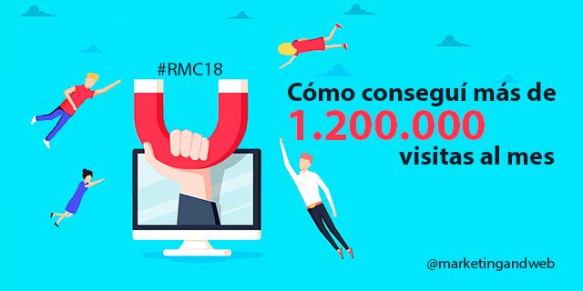20 estrategias para aumentar el tráfico web y Cómo conseguí más de 1.200.000 visitas al mes