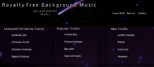 Royalty free background music