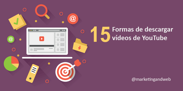 15 formas de descargar audio o vídeo de YouTube