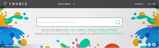 Paginas para descargar vectores gratis
