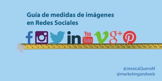Guia De Medidas De Imagenes De Redes Sociales