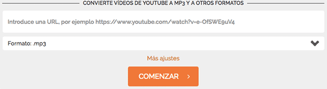 Convertidor De Youtube A Mp3 Y Mp4