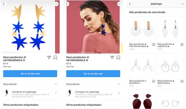 como crear una tienda en instagram